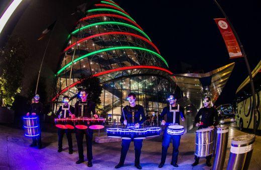 LED Drummers | LED Drummer Act