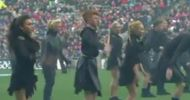 Irish dancers and Drummers at Laochra